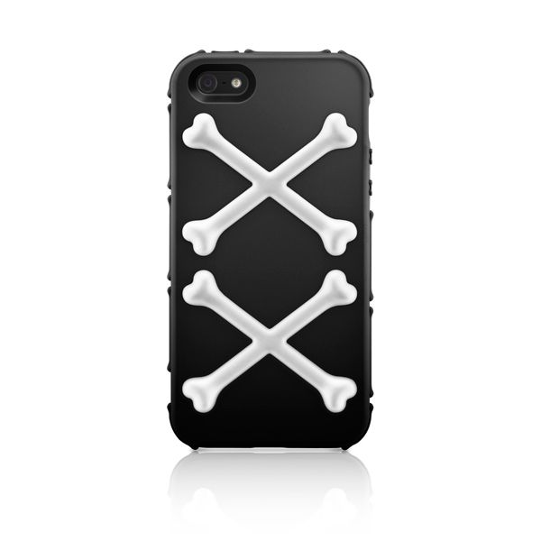 SwitchEasy Bones Pirate Black за iPhone 5 - 5