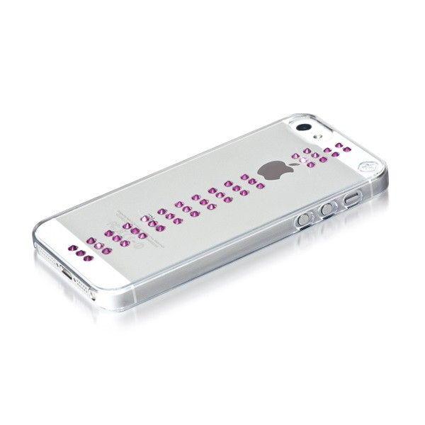 Swarovski Stripe Fuchsia за iPhone 5 - 3