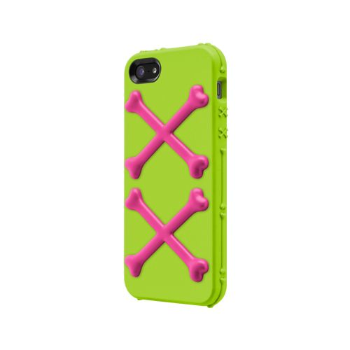 SwitchEasy Bones Toxic Lime за iPhone 5 - 1