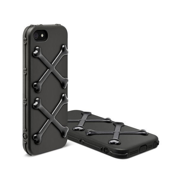 SwitchEasy Bones Pirate Black за iPhone 5 - 7