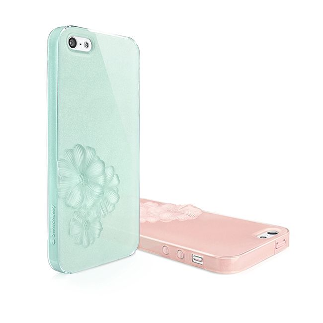 SwitchEasy Dahlia Sparkling Mint за iPhone 5 - 7