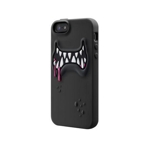 SwitchEasy Monsters Ticky за iPhone 5 -  черен - 1