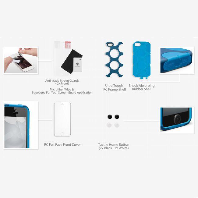 SwitchEasy FreeRunner за iPhone 5 -  син - 8