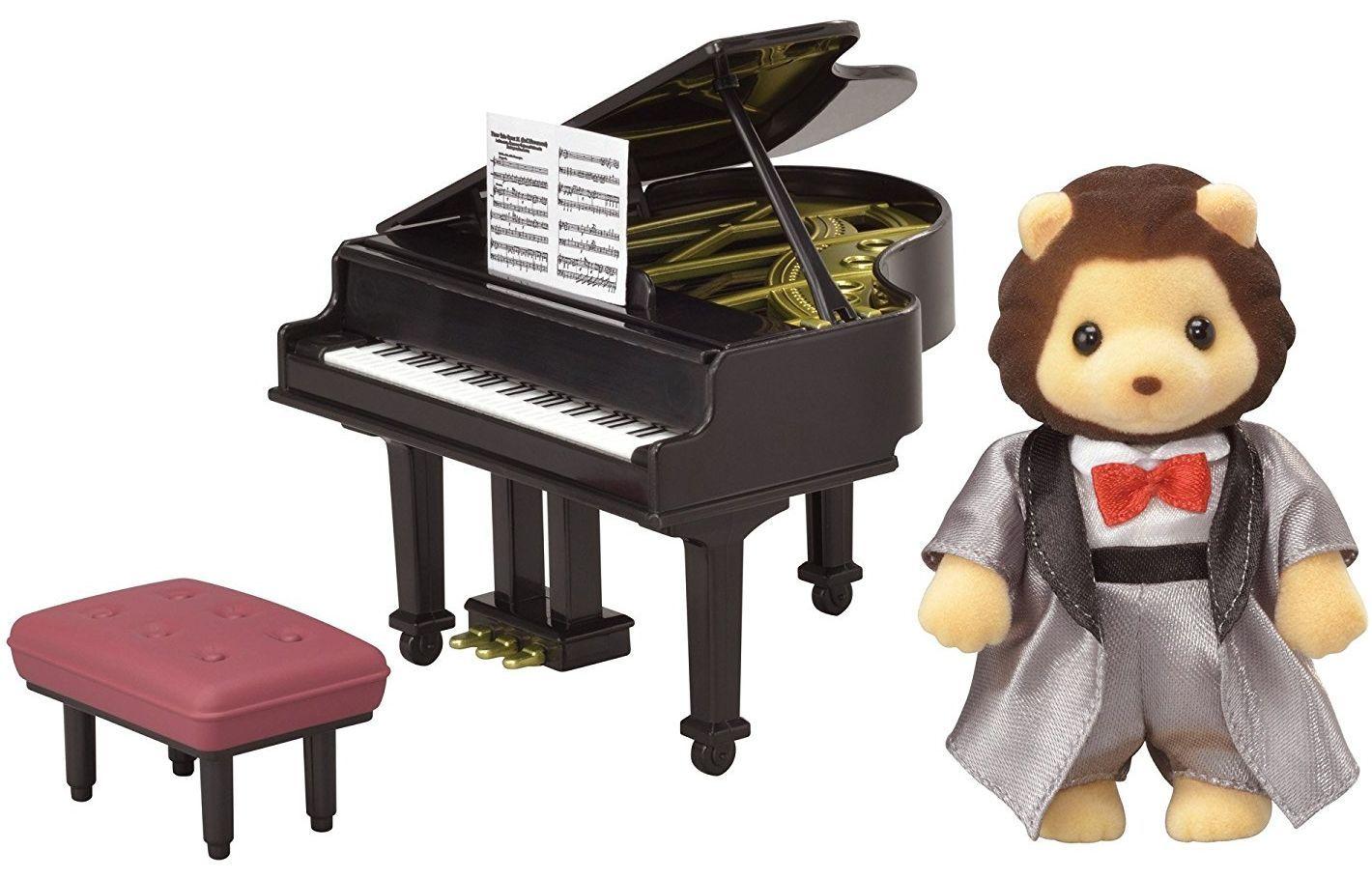 Игрален комплект Sylvanian Families Town - Концерт за пиано - 5