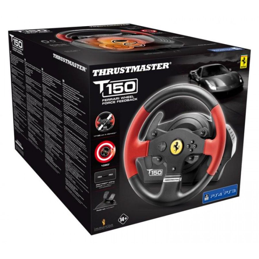 Волан Thrustmaster T150 Ferrari Force Feedback - 7