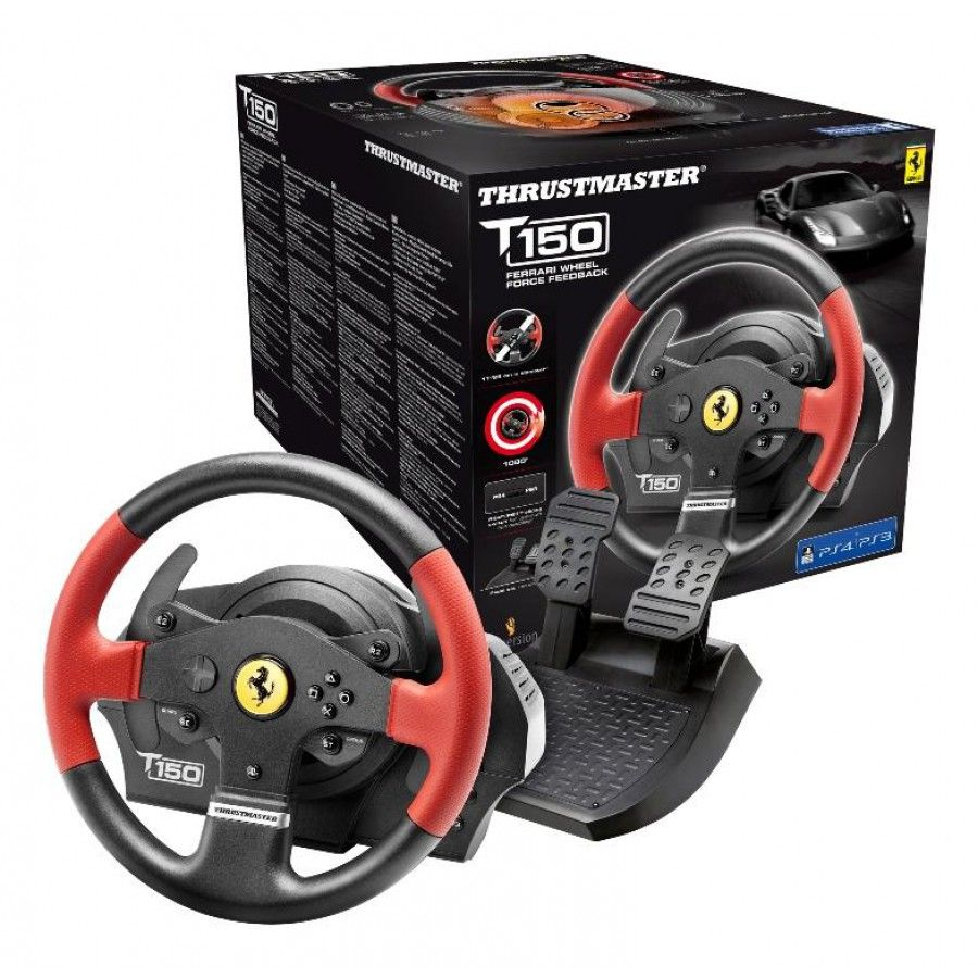 Волан Thrustmaster T150 Ferrari Force Feedback - 6