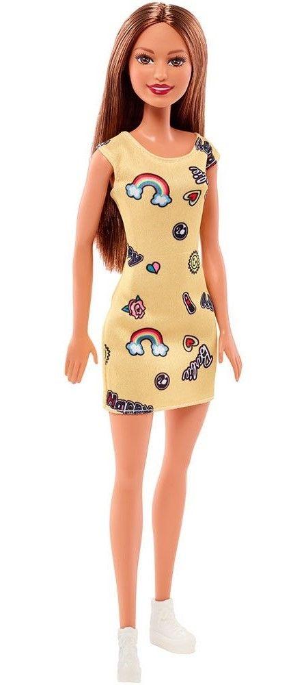 Кукла Mattel Barbie - Жълта рокля - 2