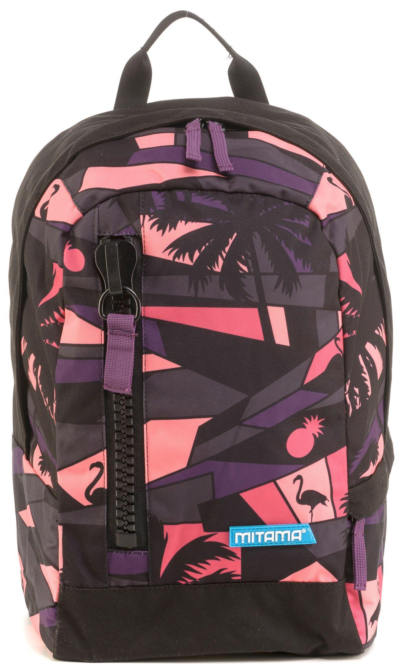 Ученическа раница Mitama Tag - Purple Sunset + подарък - 4