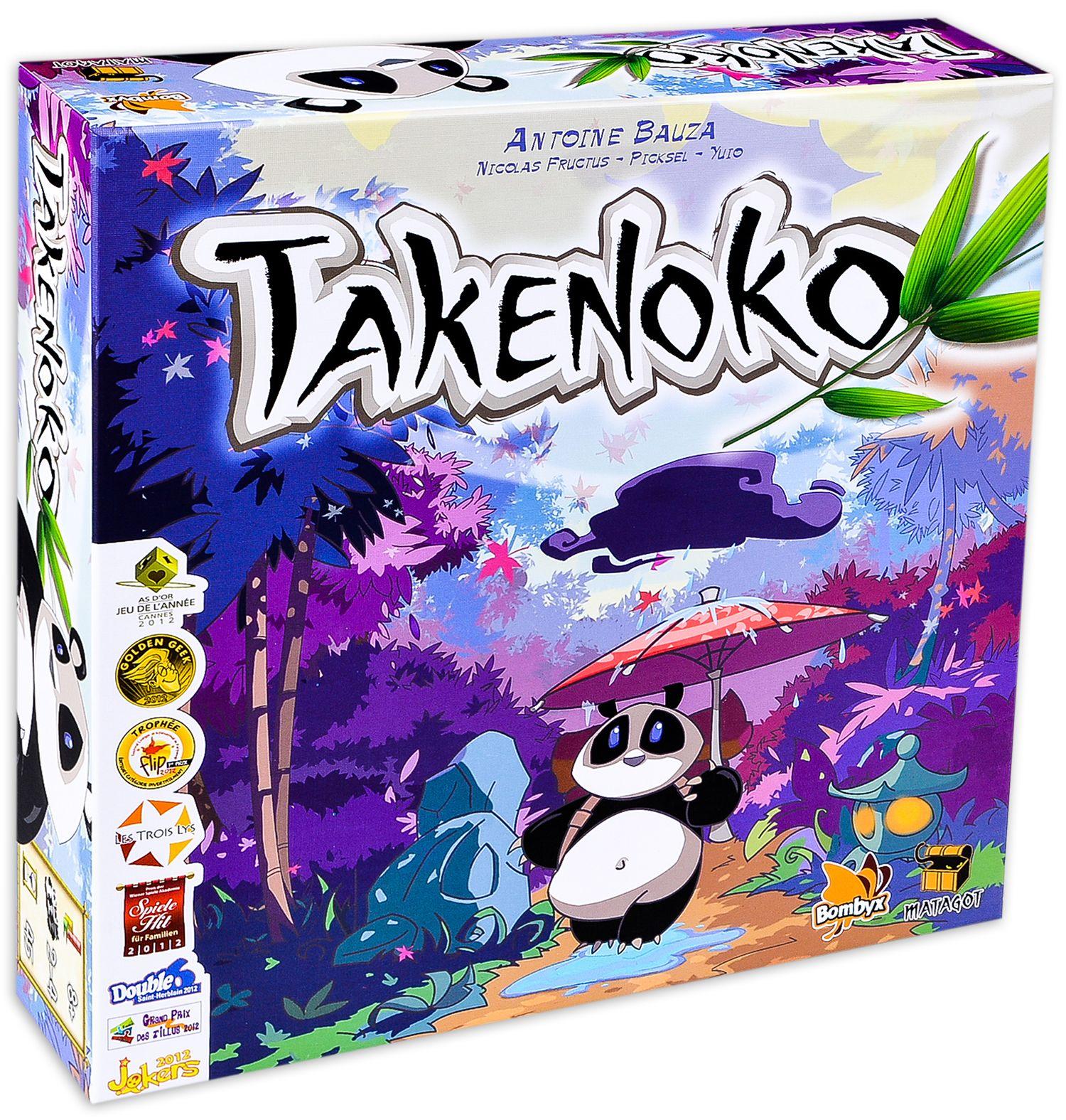 Настолна игра Takenoko - 2