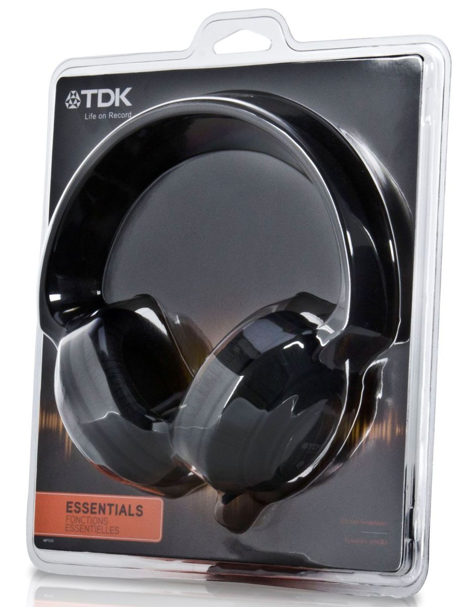 Слушалки TDK MP100 - черни - 3