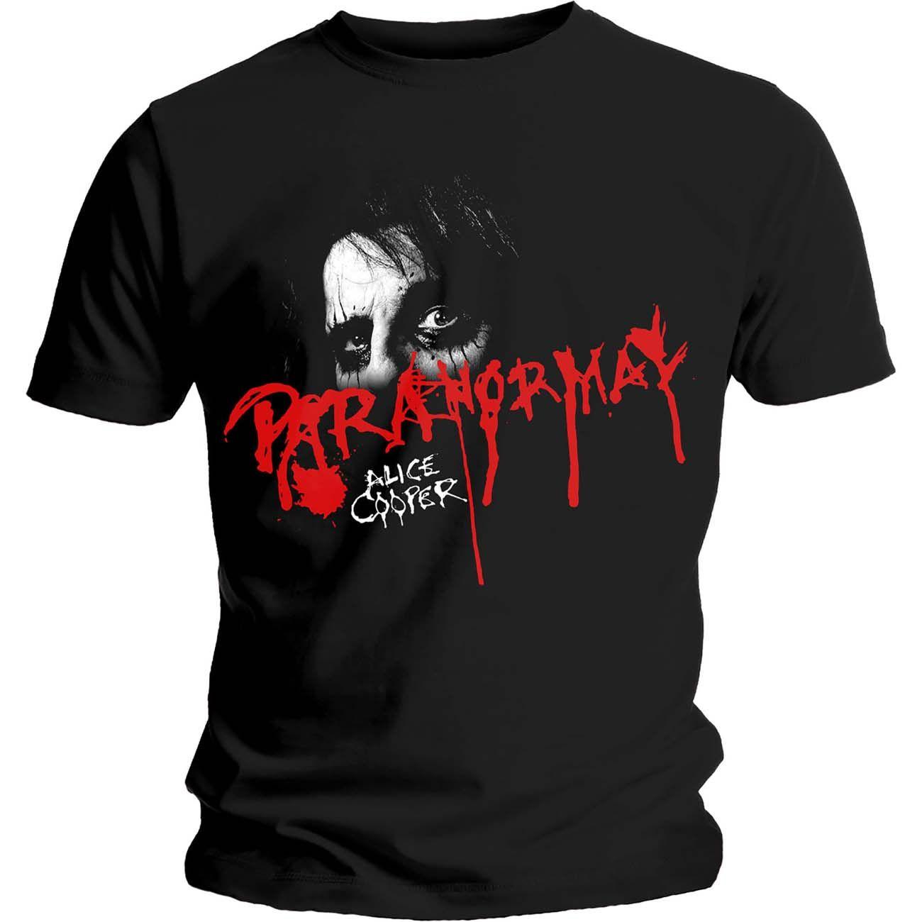 Тениска Rock Off Alice Cooper - Paranormal Eyes - 1