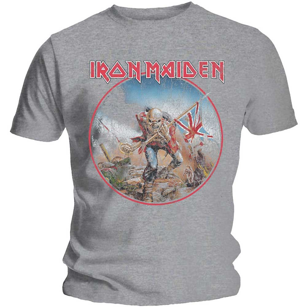 Тениска Rock Off Iron Maiden - Trooper Vintage Circle - 1