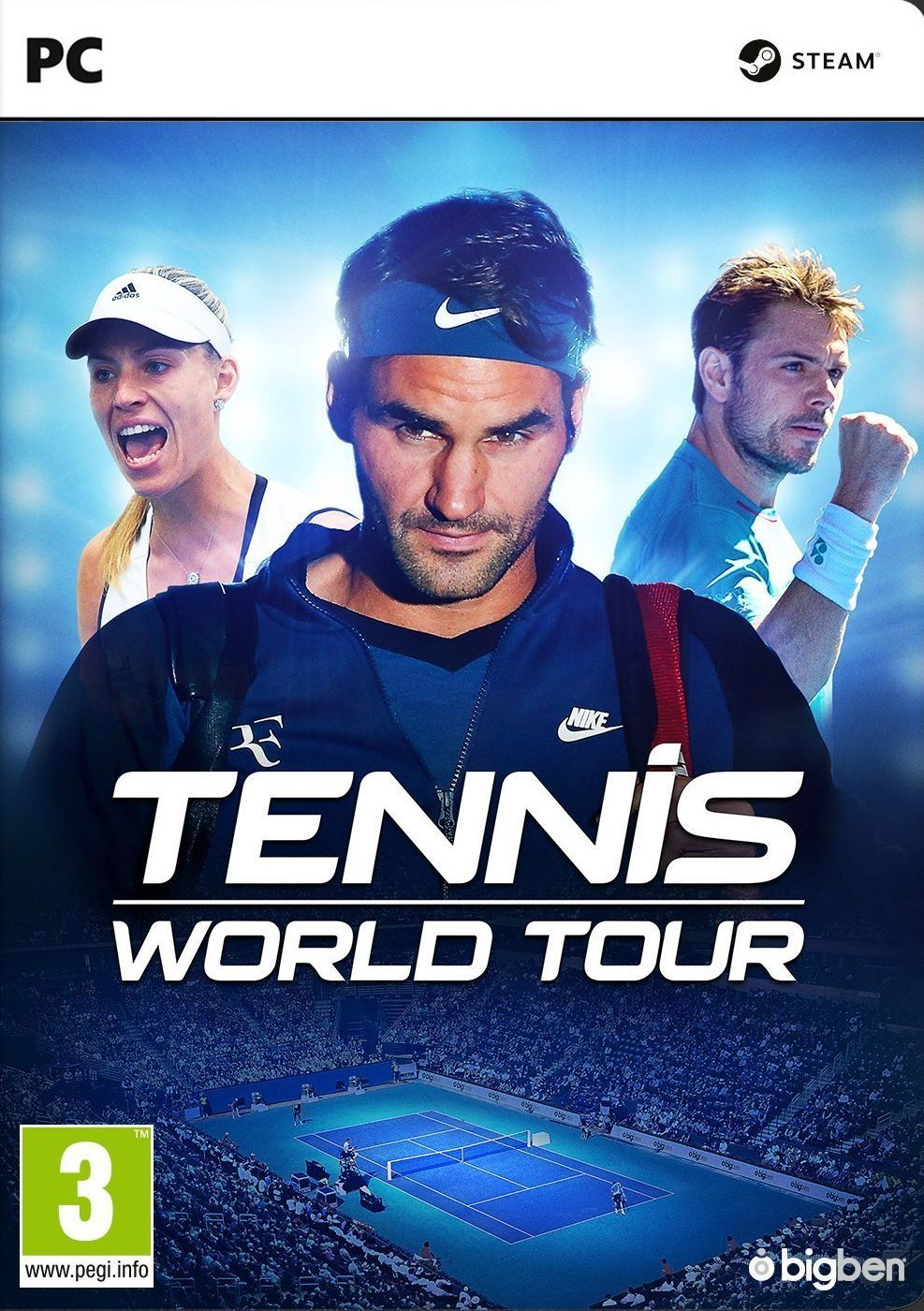 Tennis World Tour (PC) - 1