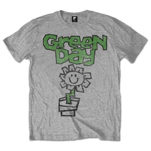 Тениска Rock Off Green Day - Flower Pot - 1