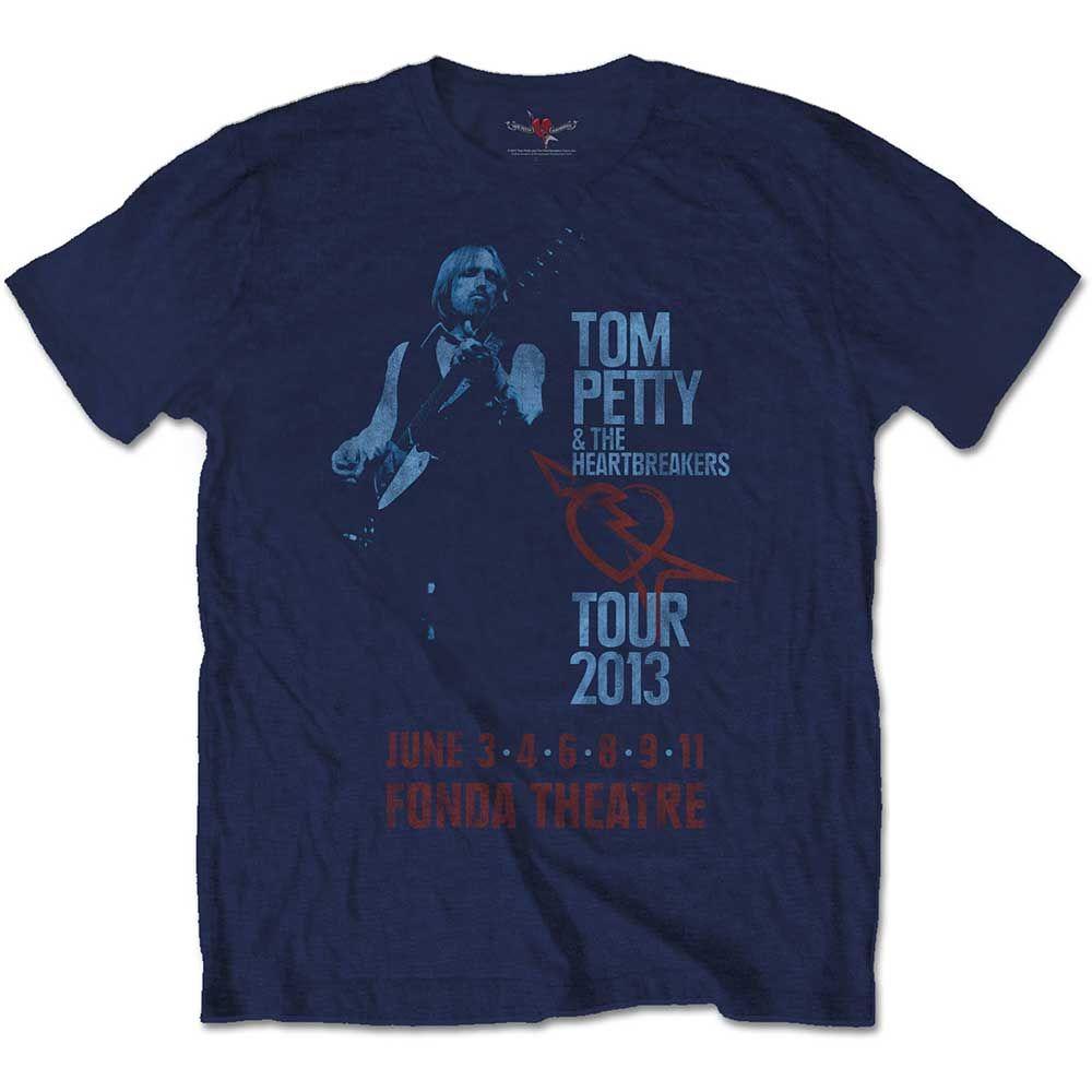 Тениска Rock Off Tom Petty & The Heartbreakers - Fonda Theatre - 1