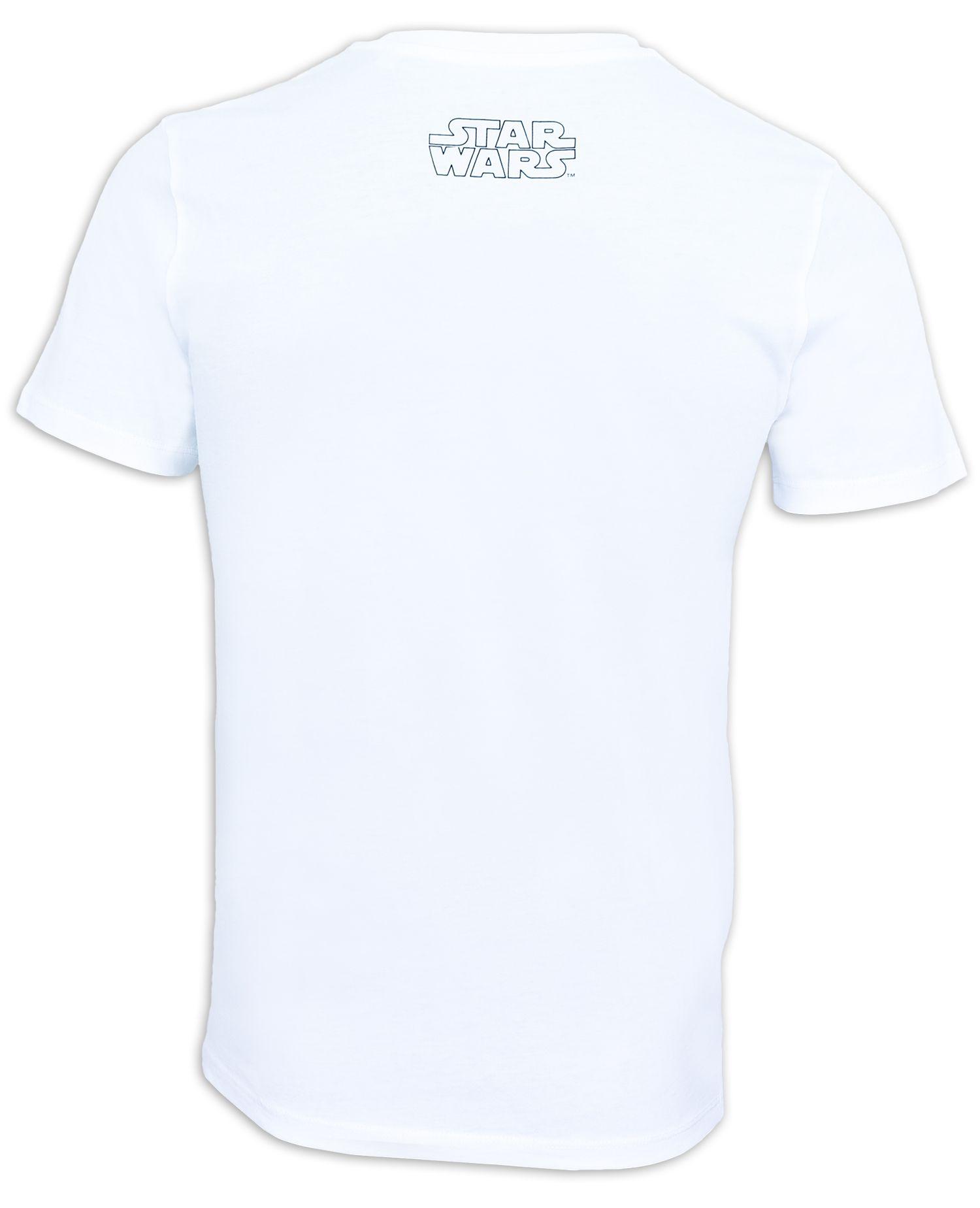 Тениска Star Wars - Chewbacca, бяла - 2
