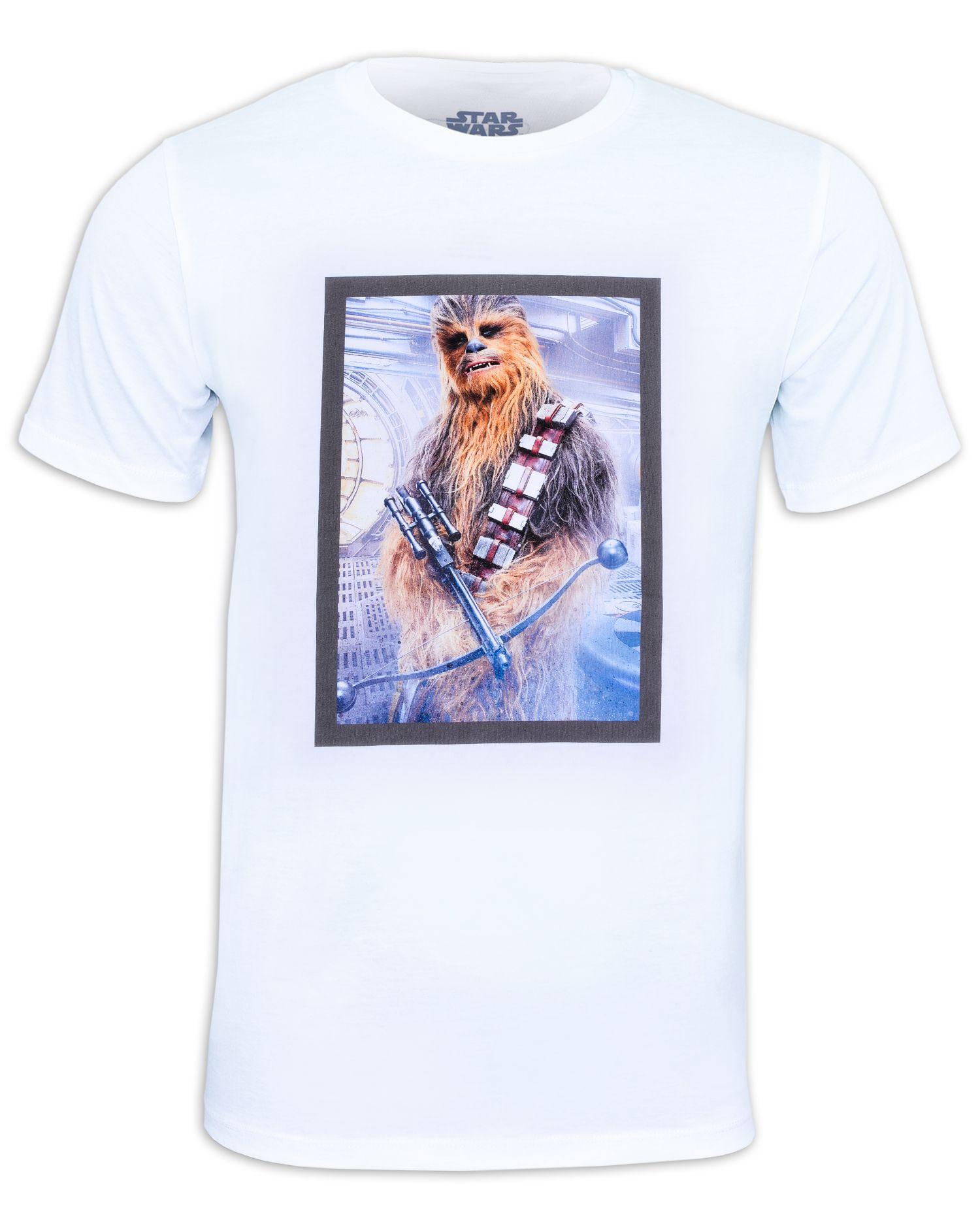 Тениска Star Wars - Chewbacca, бяла - 1