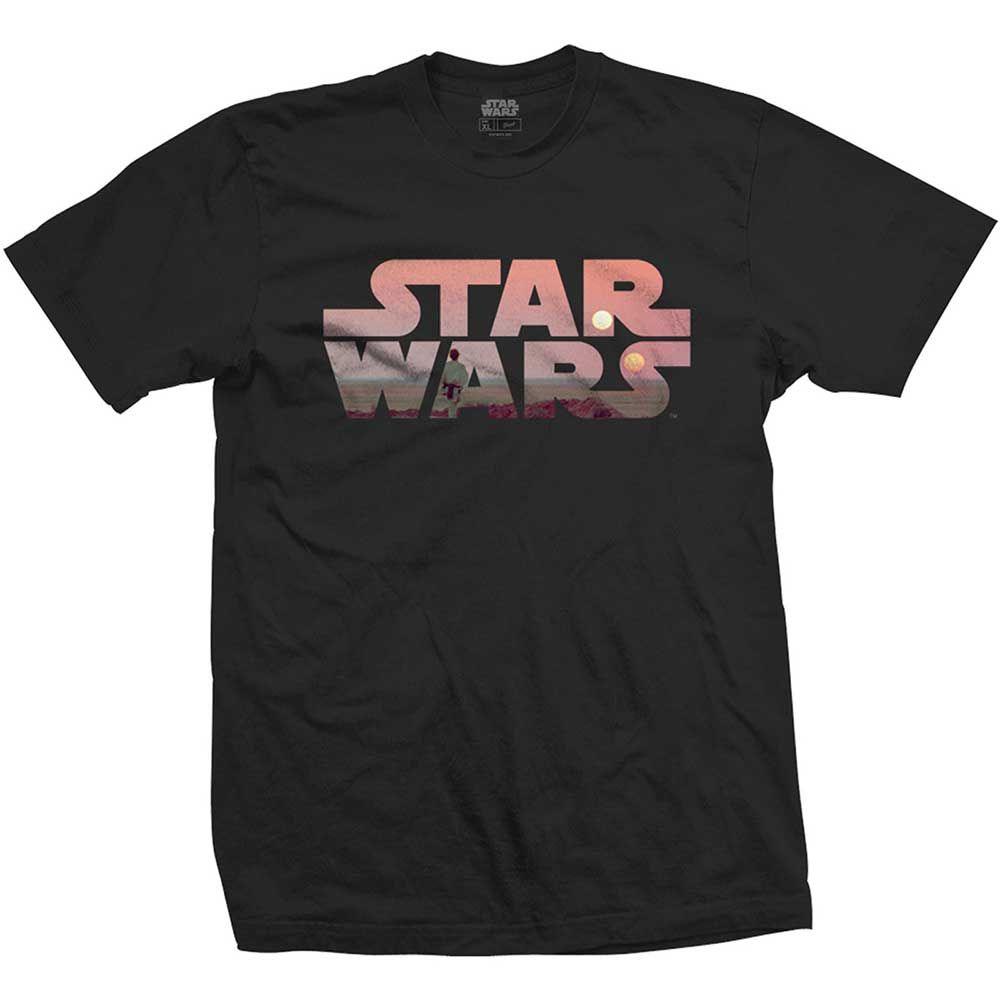 Тениска Rock Off Star Wars - Tatooine Logo - 1