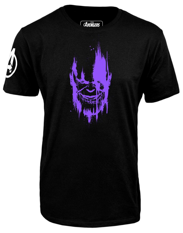 Тениска Avengers Infinity War - Thanos, черна - 1