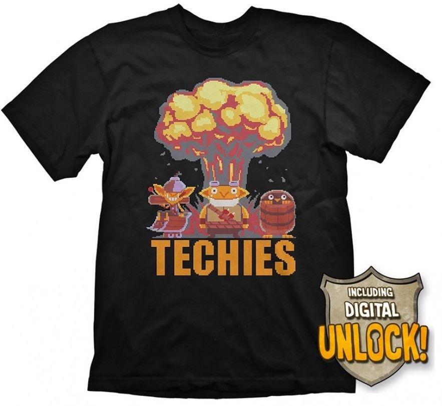 Тениска Gaya Entertainment Dota 2 - Techies Mushroom Cloud, M - 1
