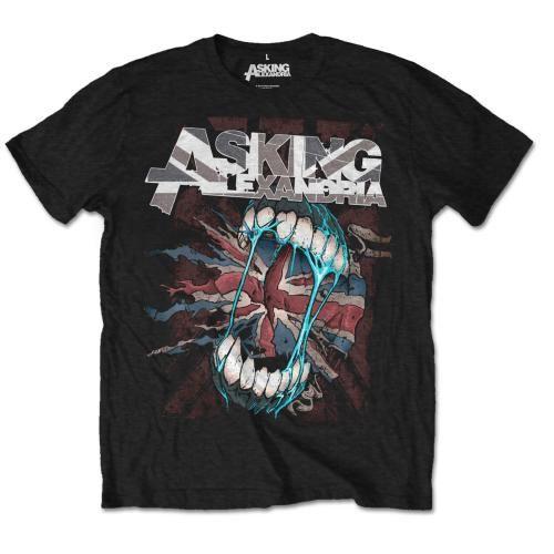 Тениска Rock Off Asking Alexandria - Flag Eater - 1