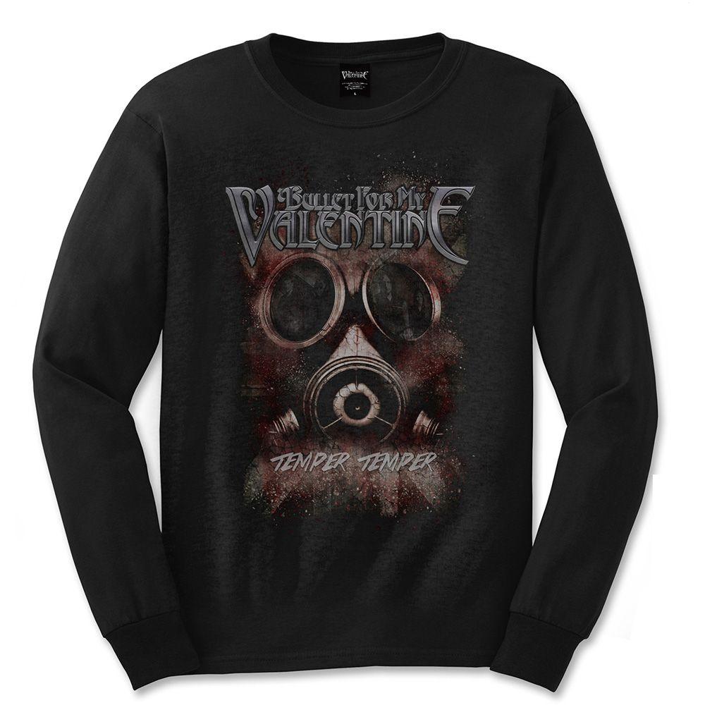 Тениска Rock Off Bullet For My Valentine - Temper Gas Mask - 1
