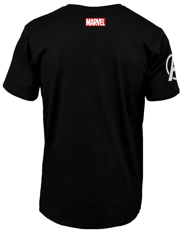 Тениска Avengers - S.H.I.E.L.D Logo, черна - 2