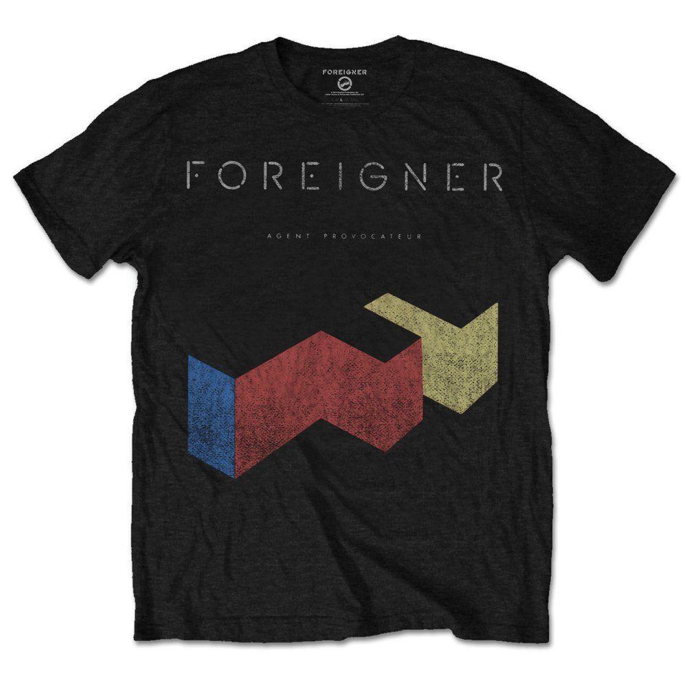 Тениска Rock Off Foreigner - Vintage Agent Provocateur - 1