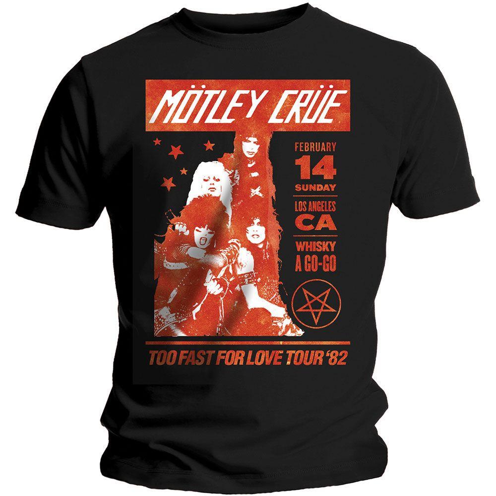 Тениска Rock Off Motley Crue - Whisky A Go Go - 1