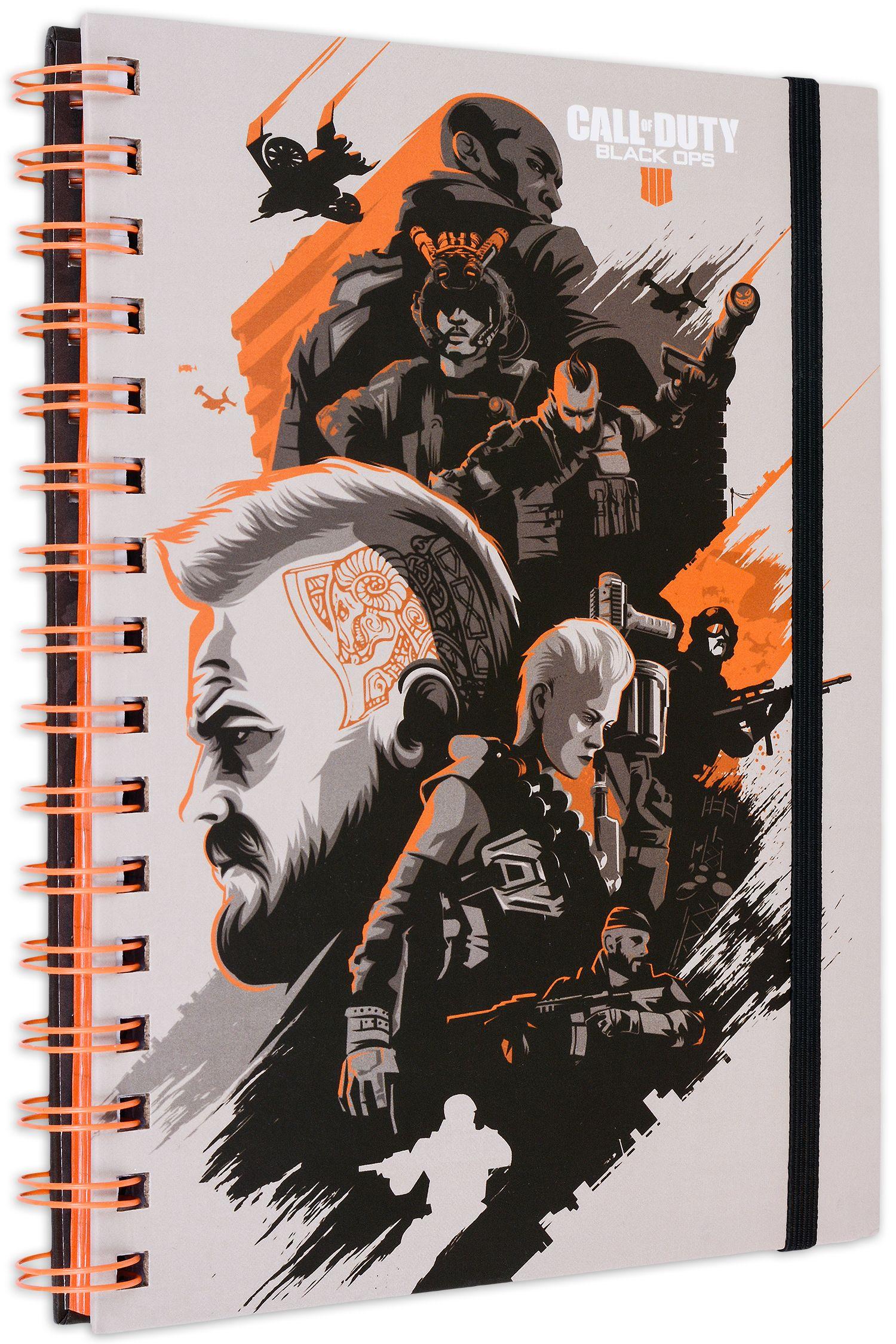 Тефтер Pyramid - Call of Duty: Black Ops 4, формат А5 - 1
