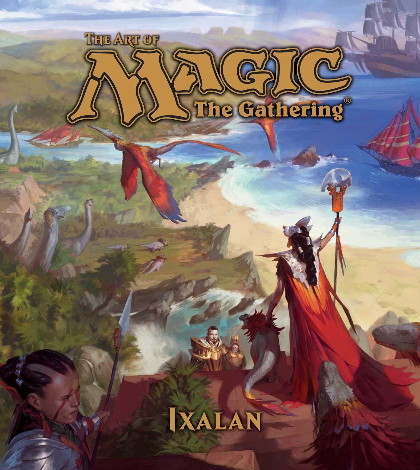 The Art of Magic The Gathering: Ixalan - 1