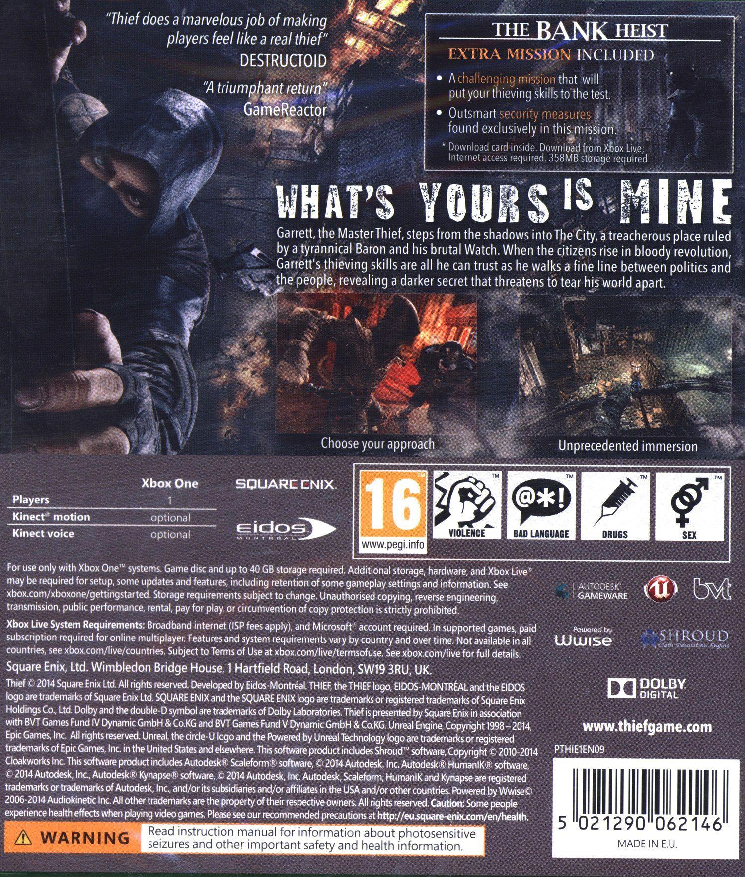 Thief (Xbox One) - 6