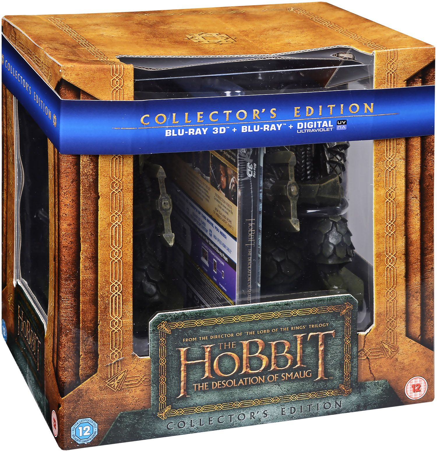 The Hobbit - The Desolation Of Smaug  -  Bookend (Blu-Ray) - 1