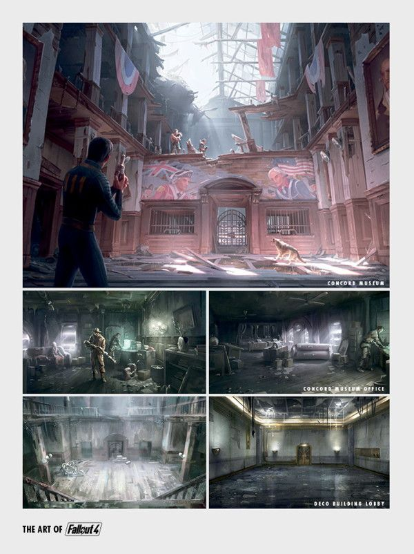 The Art of Fallout 4 - 7