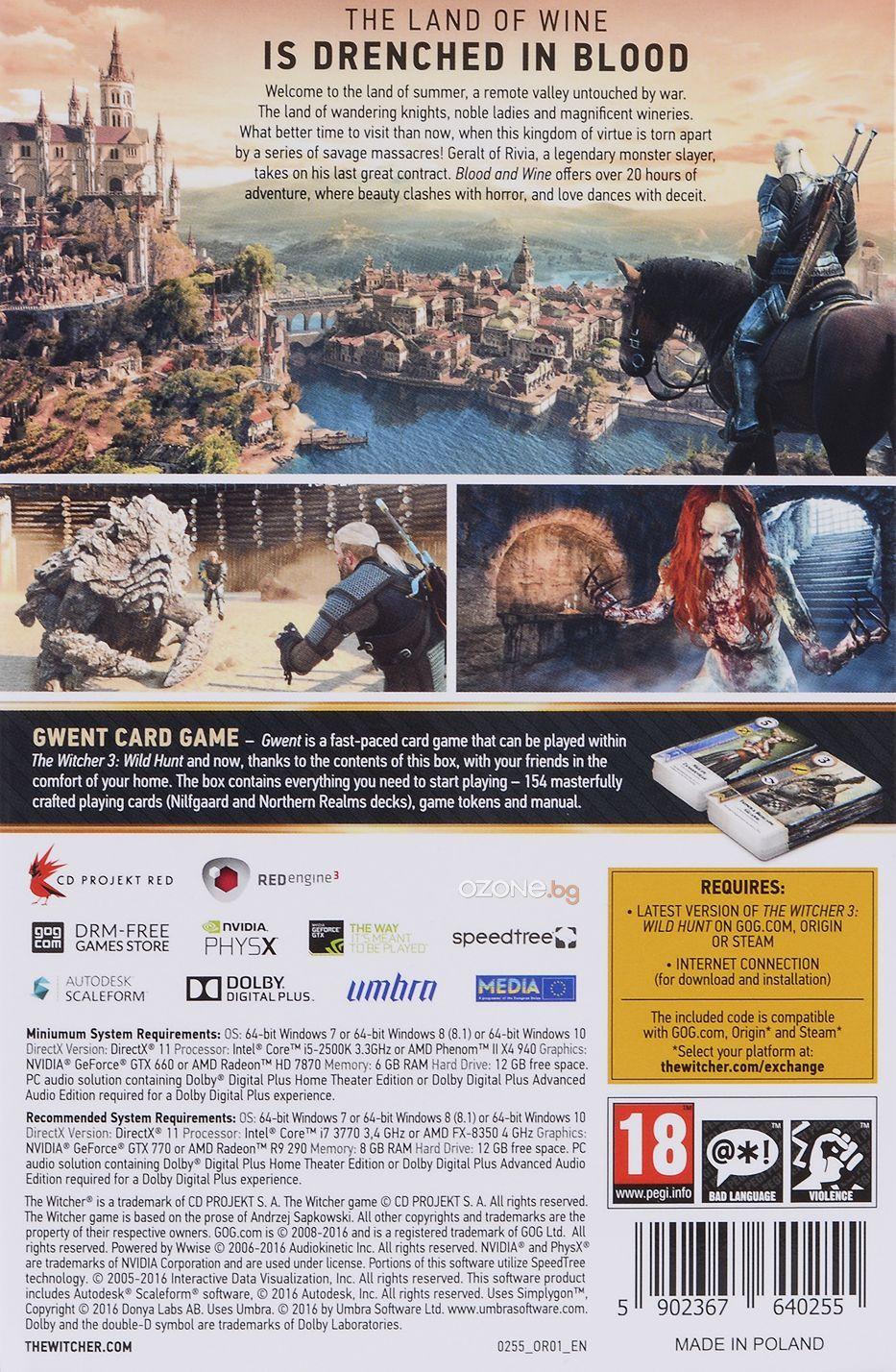 The Witcher 3: Wild Hunt - Blood & Wine (PC) - 4