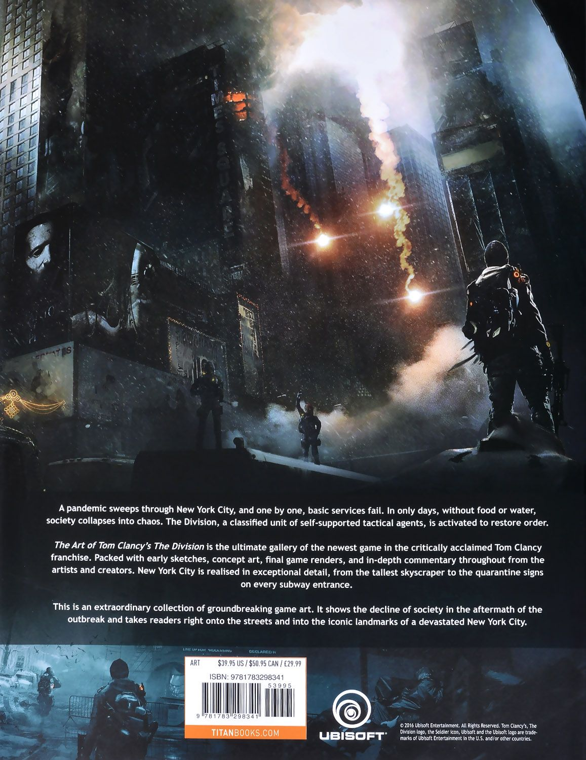 The Art of Tom Clancy's The Division - 3