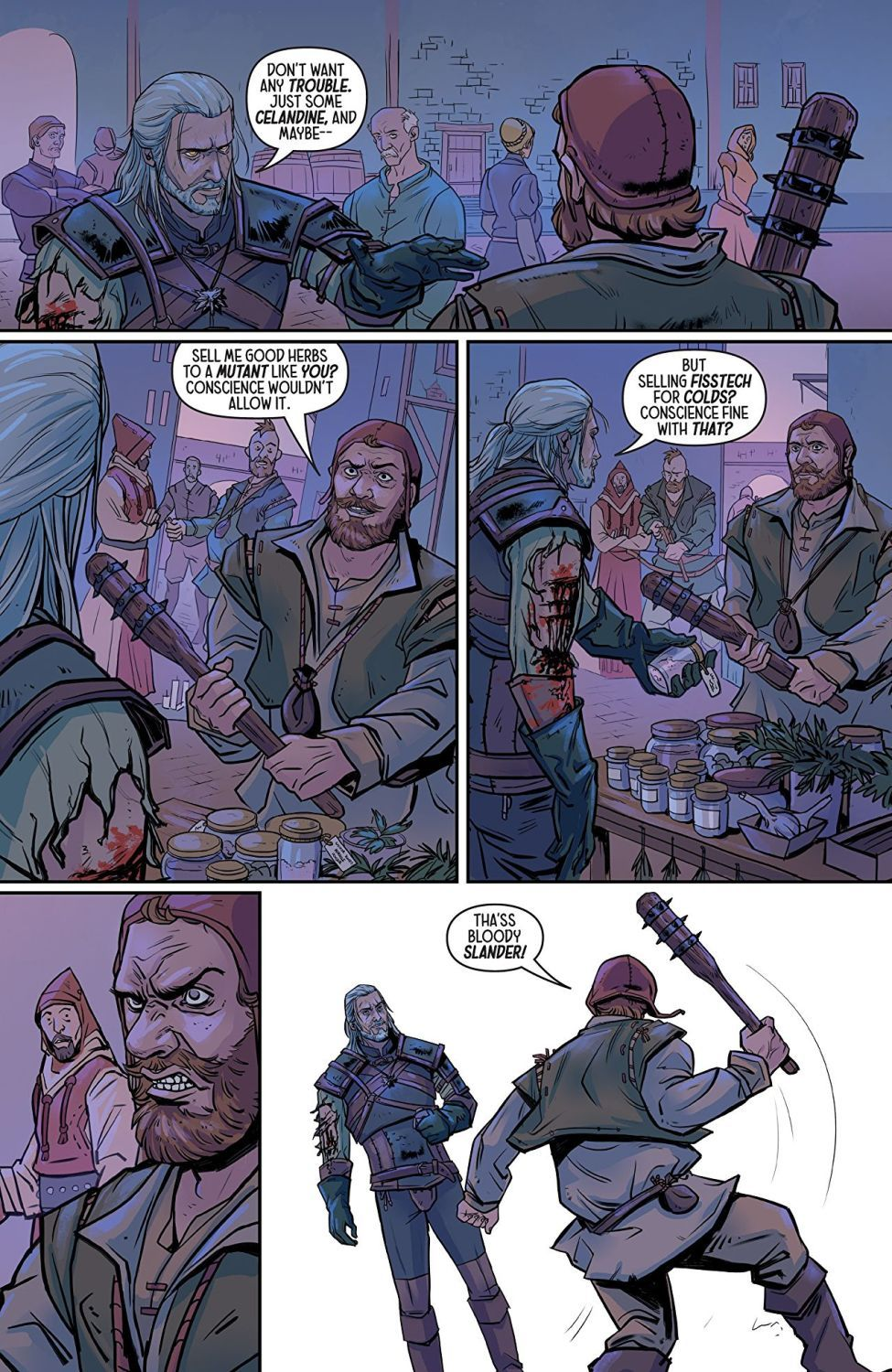 The Witcher Volume 4 Of Flesh and Flame - 3