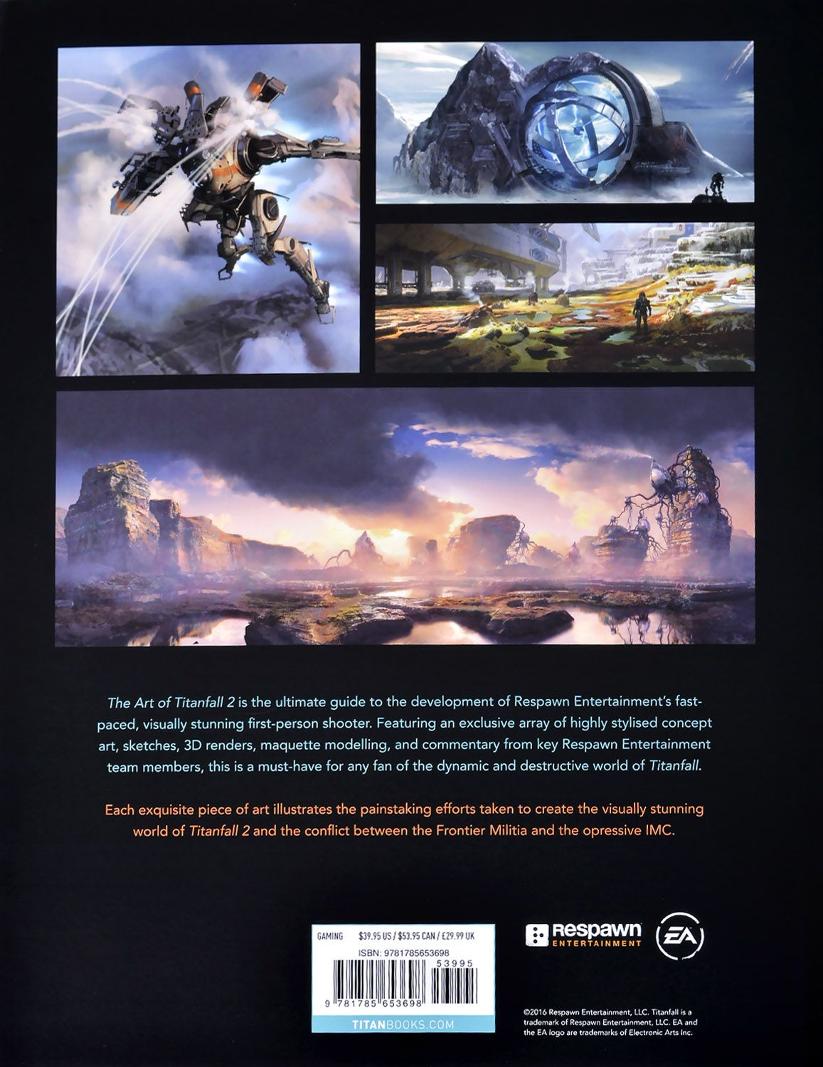 The Art of Titanfall 2 - 3