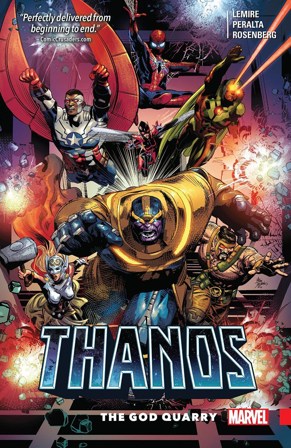Thanos Vol. 2 The God Quarry - 1