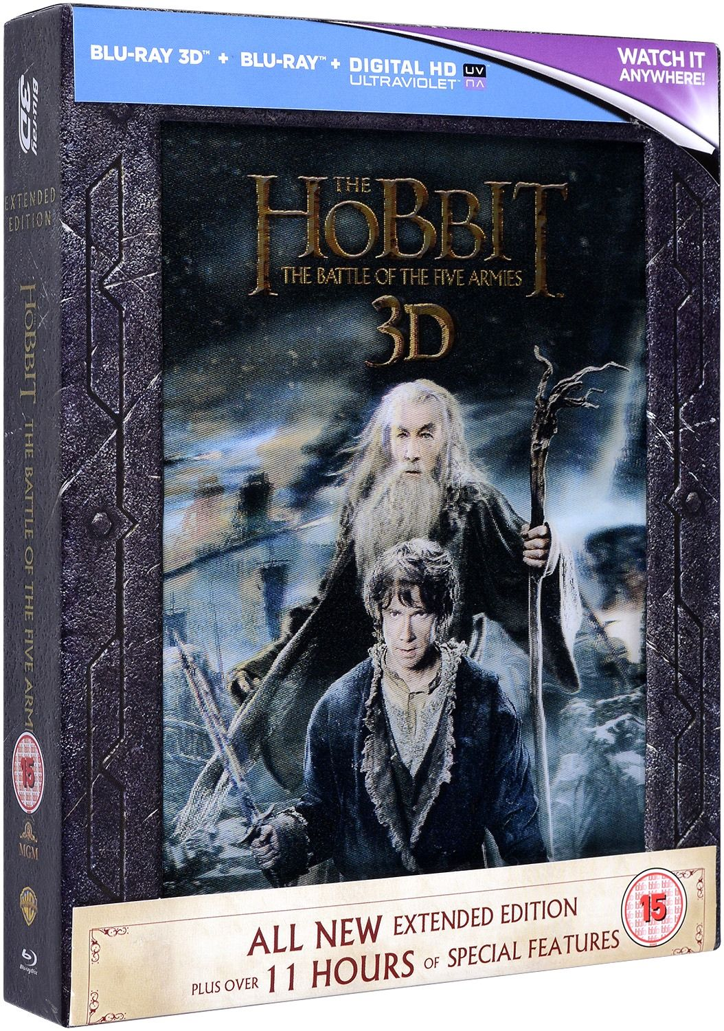 The Hobbit: The Battle Of The Five Armies - Extended Edition - 3D+2D (Blu-Ray) - 1