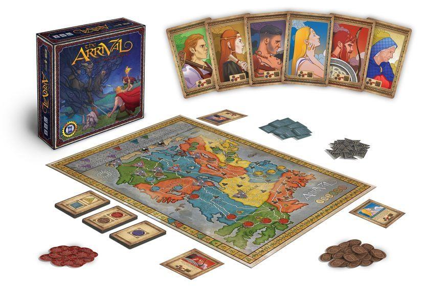 Настолна игра The Arrival - стратегическа - 2