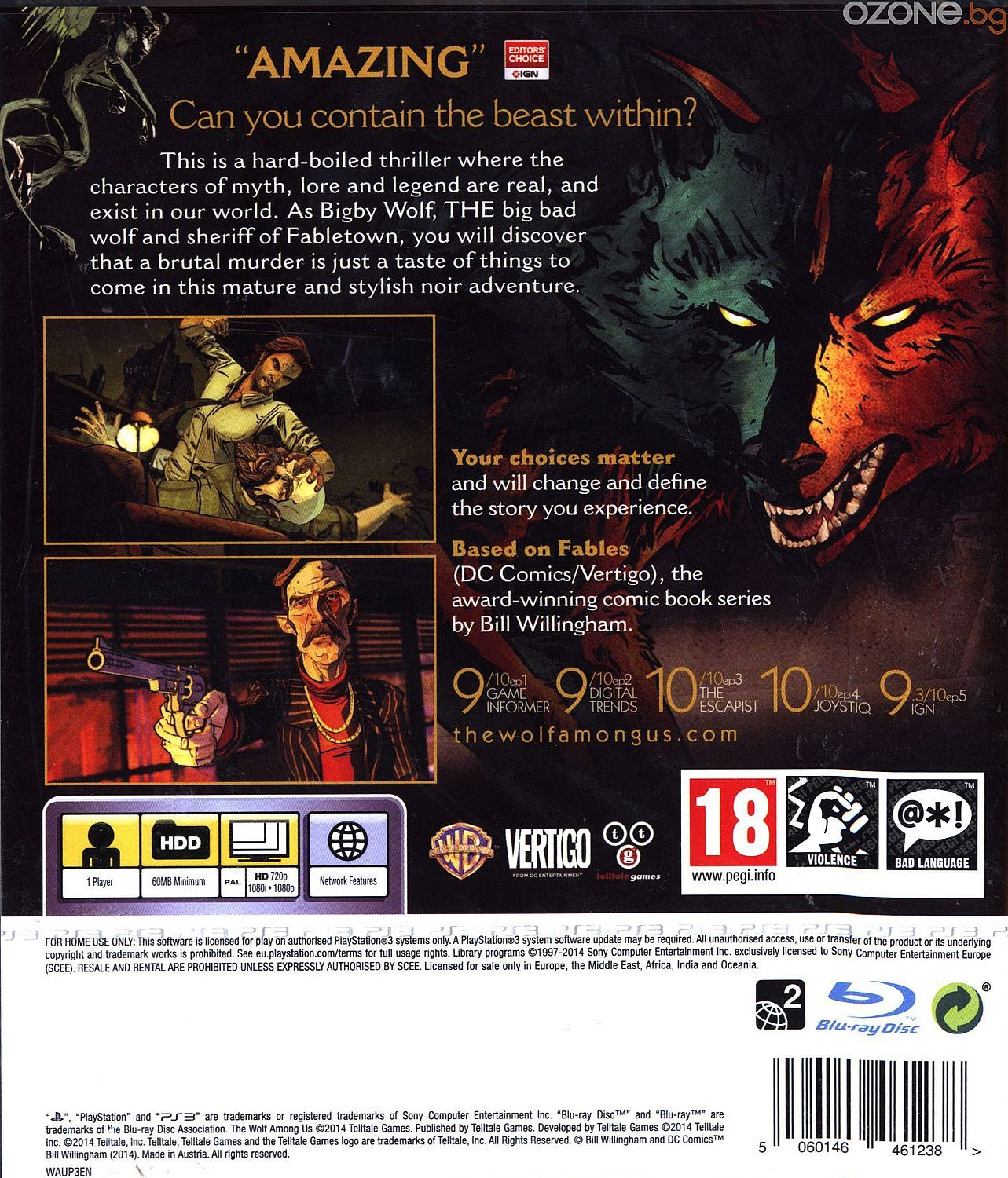 The Wolf Among Us (PS3) - 11