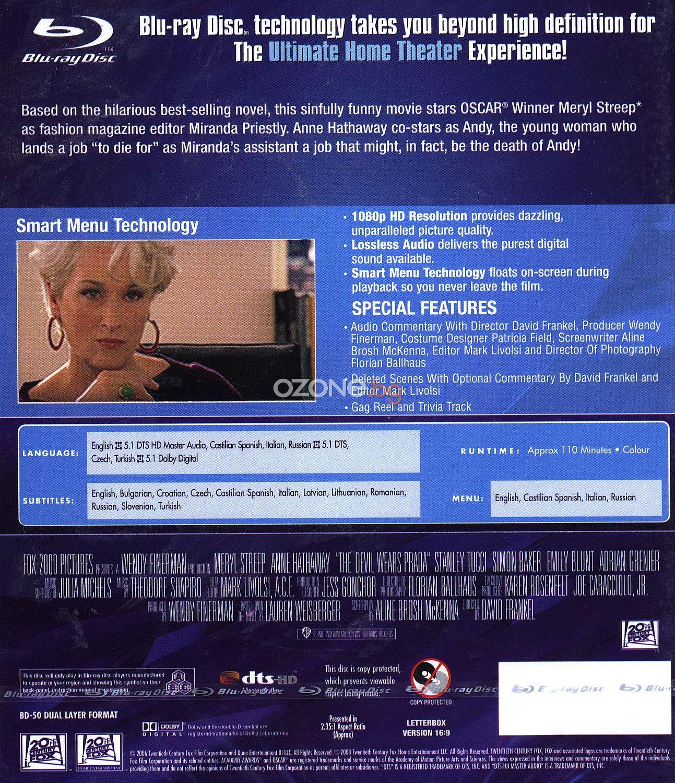 Дяволът носи Прада (Blu-Ray) - 2