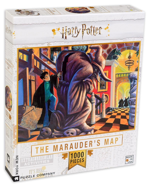 Пъзел New York Puzzle от 1000 части - The Marauders Map - 2