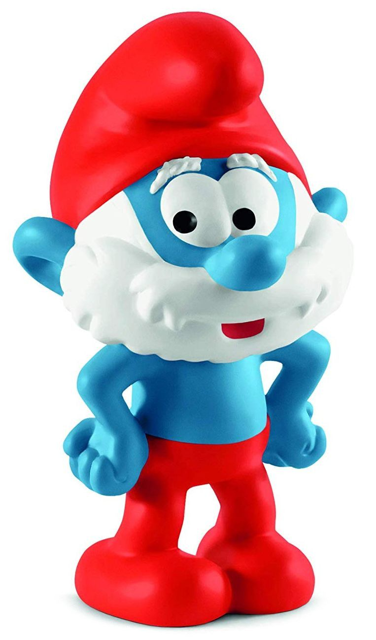Фигурка Schleich The Smurfs - Татко Смърф, стоящ - 1