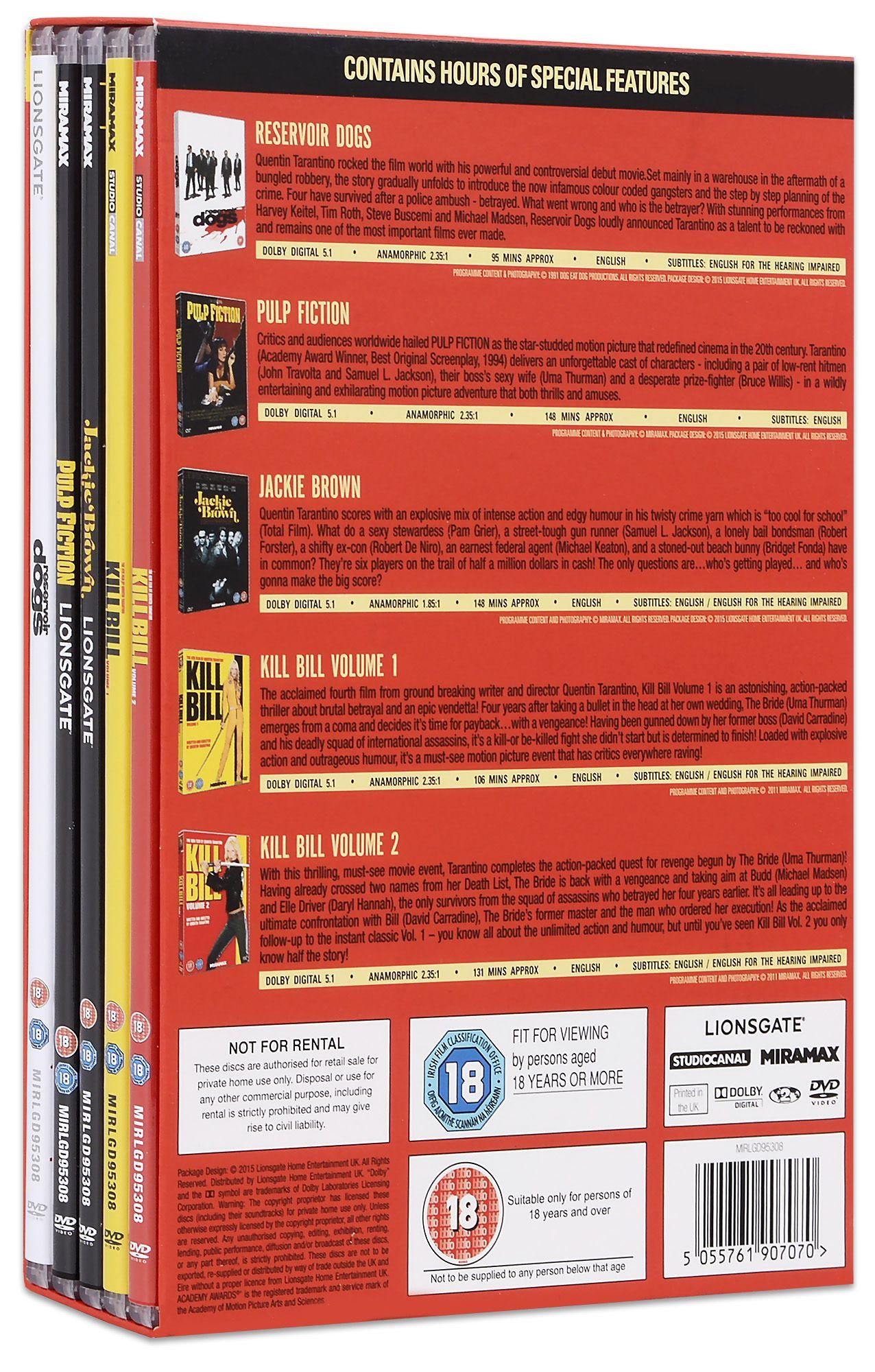 The Quentin Tarantino Collection (DVD) - 3