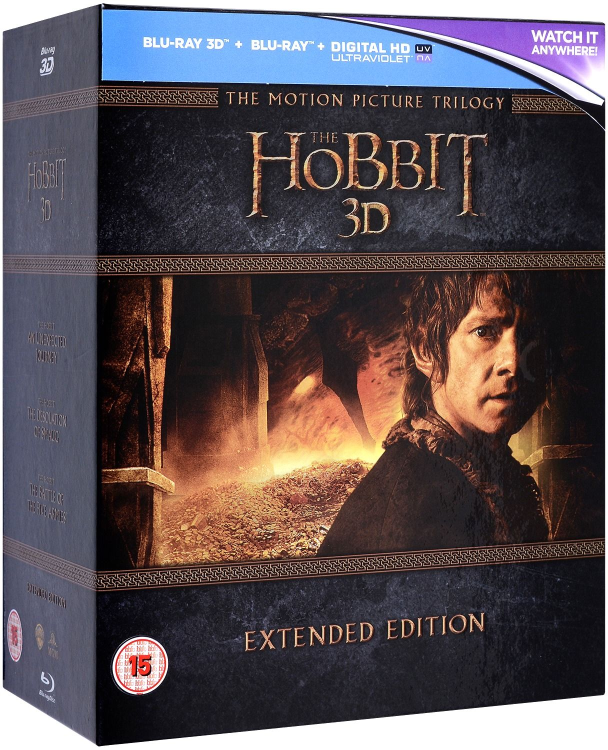The Hobbit Trilogy - Extended Edition 3D+2D (Blu-Ray) - 1
