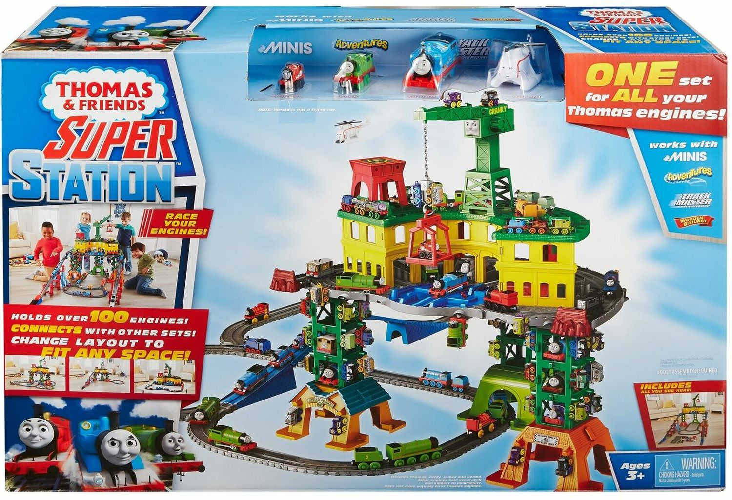 Игрален комплект Fisher Price Thomas & Friends - Super Station - 7