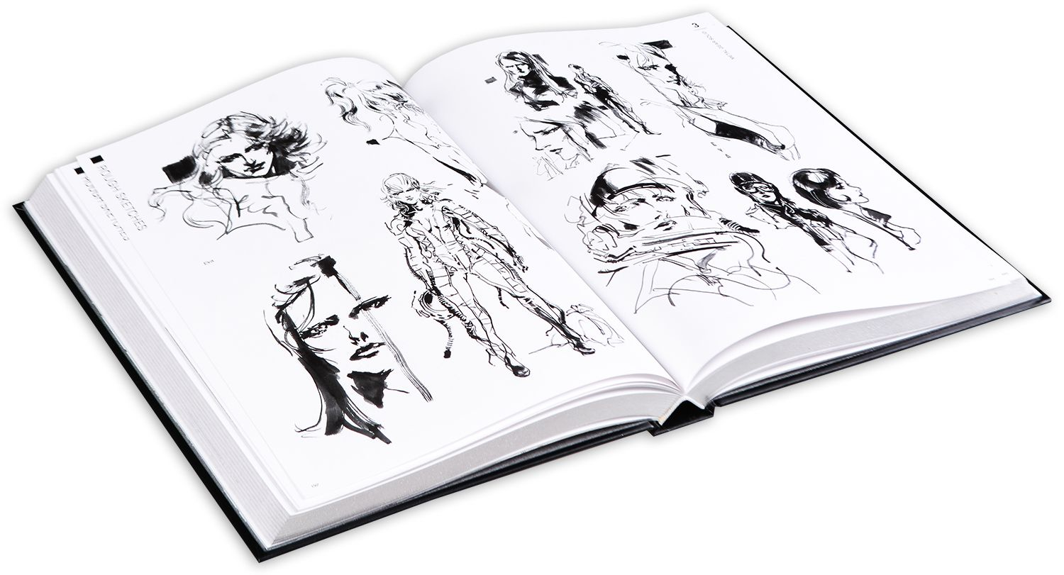The Art of Metal Gear Solid I-IV (Collectable slipcase Hardcover) - 11