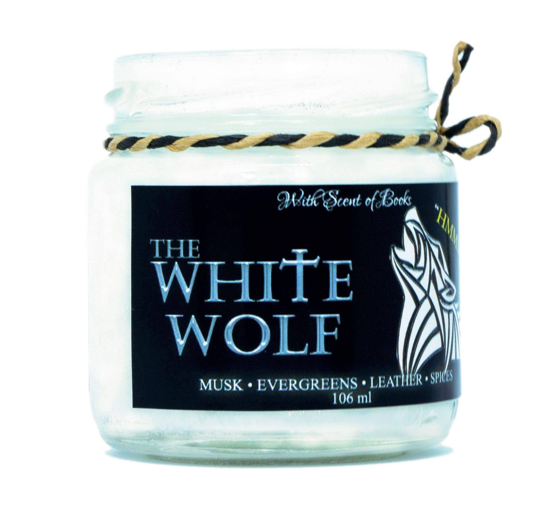 Ароматна свещ The Witcher - The White Wolf, 106 ml - 3